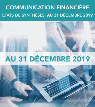 Communication financière au 30 décembre 2019