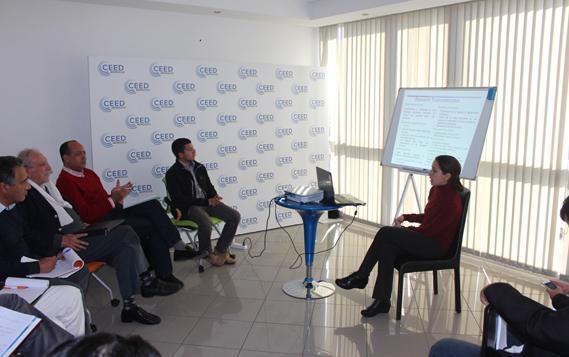 Atelier organisé par le CEED sur le Financement des PME