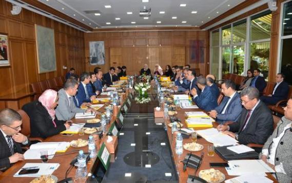 انعقاد أشغال الدورة الثالثة والثلاثين للمجلس الإداري لصندوق الضمان المركزي